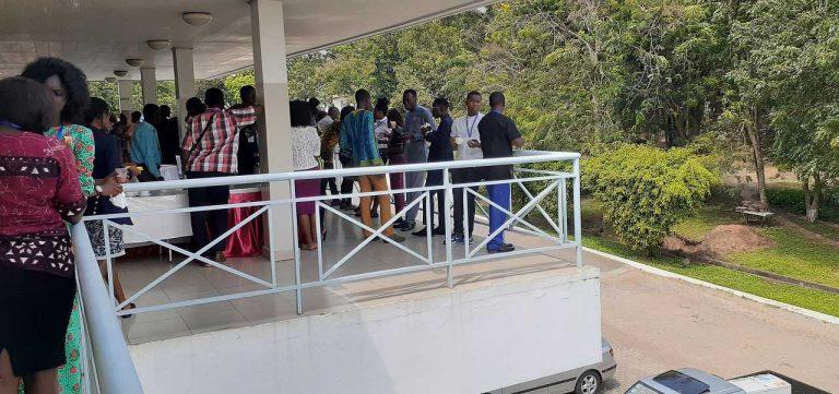 Tea break at YALI RLC Cohort 15 Accra Ghana